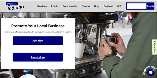 Create Your Open In Indiana Profile & Business Listing Workshop - Indianapolis East
