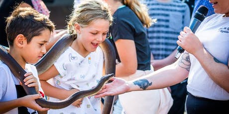 Love me like a reptile School Holiday Program tickets