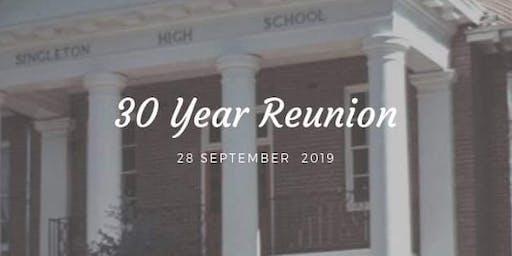 Singleton High 30year Reunion