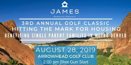 3rd Annual Golf Classic | Hitting the Mark for Housing tickets