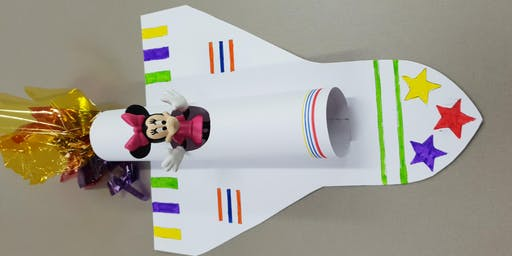 Eastgardens Library - School Holiday Activity - Space Shuttle Model
