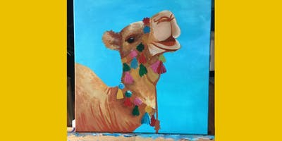 Angelica's Tropi-Camel Paint Party