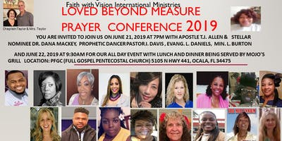 Loved Beyond Measure Prayer Conference 2019