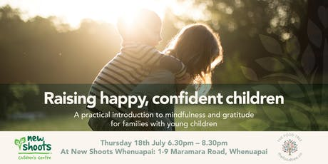 Raising happy confident children tickets