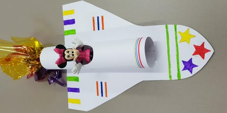 Bexley North Library - School Holiday Activity - Space Shuttle Model tickets