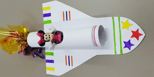 Bexley North Library - School Holiday Activity - Space Shuttle Model