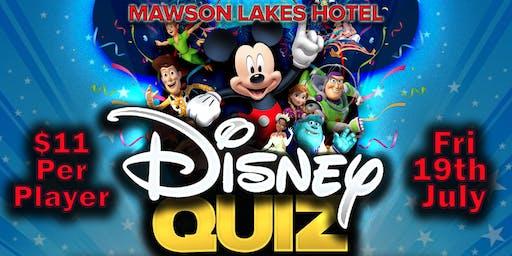 Mawson Lakes Disney Trivia