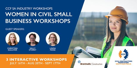 CCF SA Women in Civil Small Business Workshops tickets