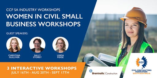 CCF SA Women in Civil Small Business Workshops