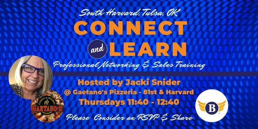 South Harvard, Tulsa, OK: Connect & Learn | Networking & Sales Training