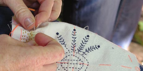 Kantha Embroidery Workshop tickets