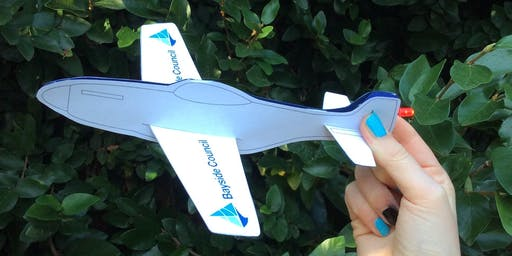 Arncliffe Library - School Holiday Activity - Light-up Plane