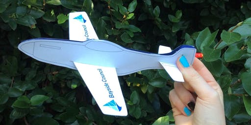 Rockdale Library - School Holiday Activity - Light-up Plane