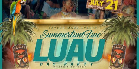 """""""SUMMERTIME FINE"""" Luau Day Party @BLOODHOUNDS BREW tickets"""