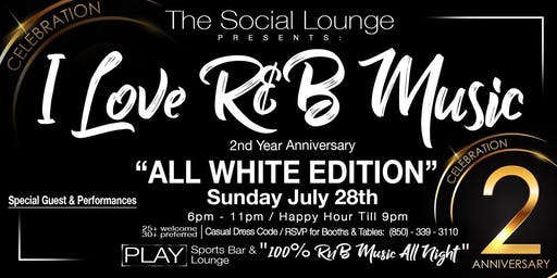 The Social Lounge 2nd Year All White Anniversary Party
