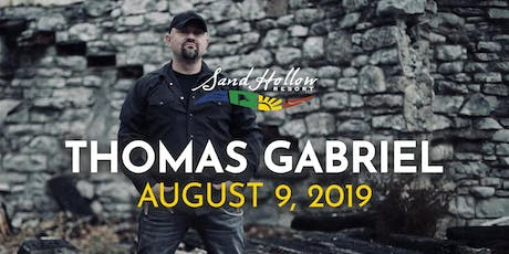 Thomas Gabriel at Sand Hollow Resort tickets
