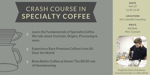 Crash Course in Specialty Coffee