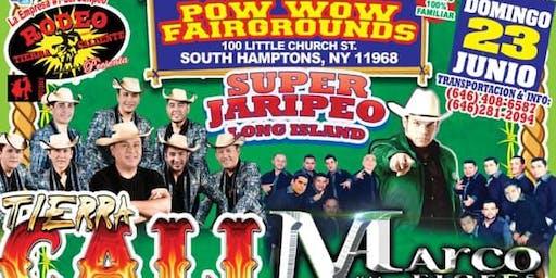 SUPER JARIPEO CON TIERRA CALI ALACRANES MUSICAL MARCO FLORES RANCHO LA MISION DOMINGO