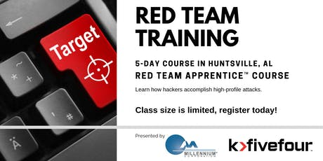 Red Team Apprentice™ Course tickets