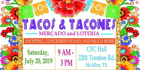 HWNT-RGV Tacos & Tacones  - Mercado and Loteria 2019 boletos