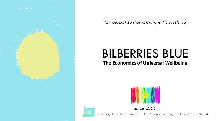 Bilberries Blue Inaugural Microsummit with Nora Bateson at 10 Square image