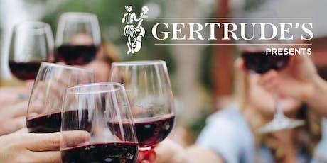 Wine Tasting - Gertrude's Jazz Bar Style  tickets