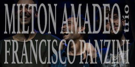 Milton Amadeo Trío / Francisco Panzini entradas
