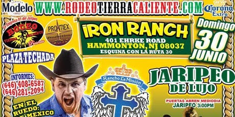 SUPER JARIPEO RANCHO LA MISION EN NJ  tickets
