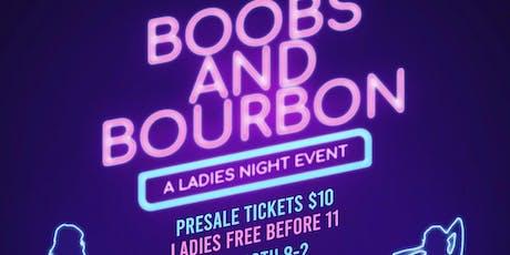 Boobs & Bourbon: Breast Cancer Fundraiser tickets