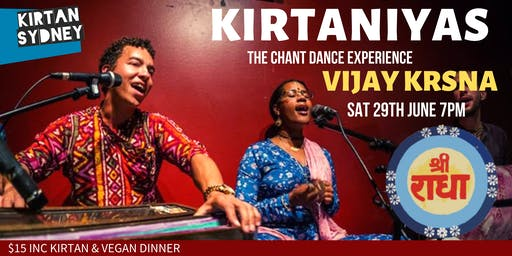 KIRTANIYAS - Vijay Krsna Live in Concert