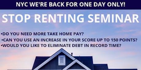 NY Stop Renting Seminar tickets