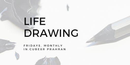 Life Drawing at in.cube8r Prahran