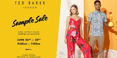 Ted Baker Sample Sale