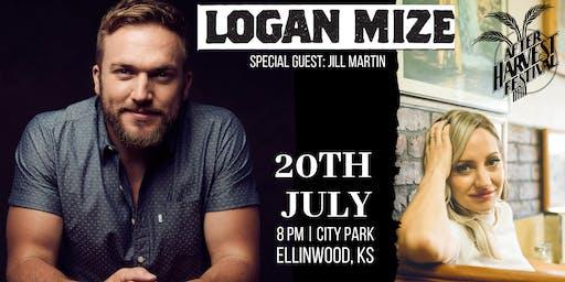 Logan Mize Concert w/ special guest, Jill Martin, at After Harvest Festival