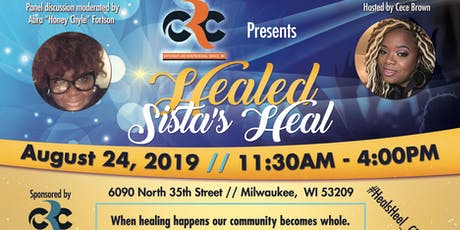 Healed Sista's Heal tickets