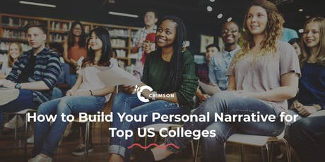 How to Build Your Personal Narrative for Top US Colleges | Taipei - June 22 tickets