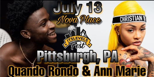 itsLEVELS FEST with Quando Rondo & Ann Marie   presented by Levels Agency