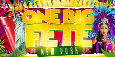 One Big Fete New York  tickets