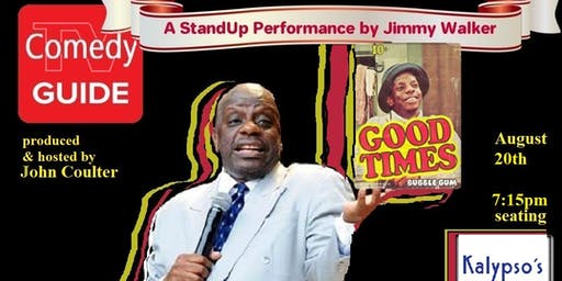 Tuesday StandUp with Jimmy Walker (Good Times) @ Kalypso's in Reston