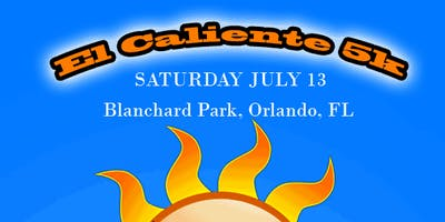 El Caliente 5k Run at Blanchard Park