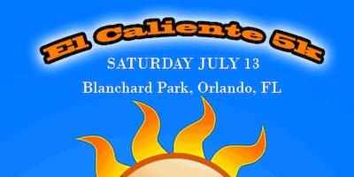 El Caliente 5k Run at Blanchard Park