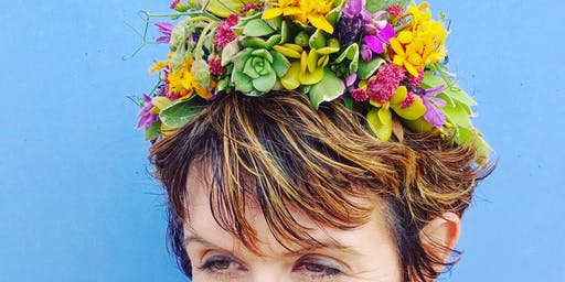 A Midsummer's Flower Crown Workshop