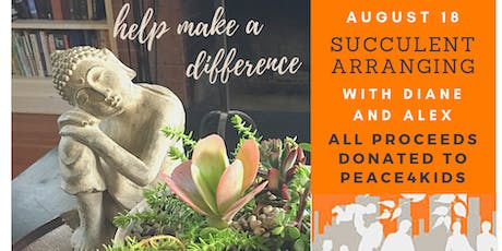 Succulent Arranging and Care with Diane Martell Landscape Design (PM) tickets