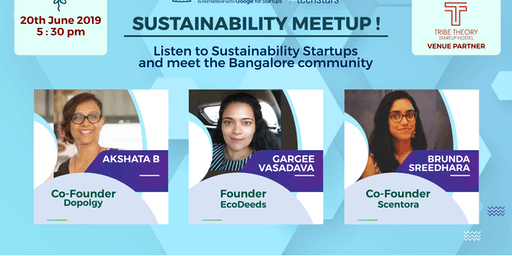 SUSTAINABILITY MEETUP