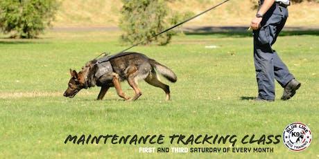 Tracking Maintenance Class tickets