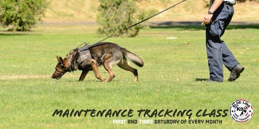 Tracking Maintenance Class
