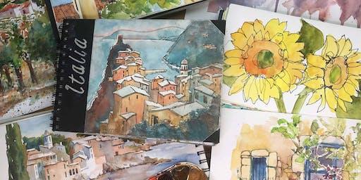 Sunlit Watercolor