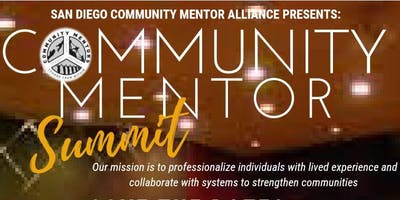 San Diego Community Mentor Summit 2019