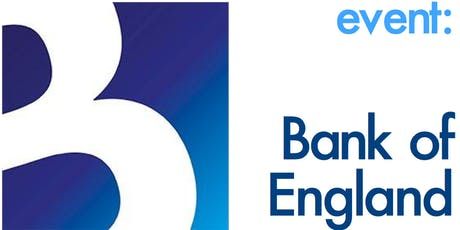 Bank of England Lunch - Members & Non-Members by invitation only tickets