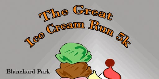 The Great Ice Cream Run 5k at Blanchard Park